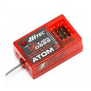엑스캅터 - Hitec ATOM 3 2.4GHz 3 Chaanel Surface Receiver