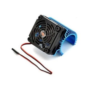 엑스캅터 - HOBBYWING Fan-COMBO C1 MOTOR HEATSINK with COOLING FAN (하비윙 모터 36mm 히트싱크 /5V 쿨링팬)