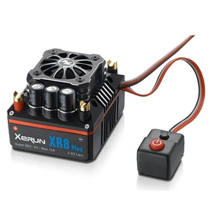 엑스캅터 - [최고급 1/8차량용 150A 변속기]hobbywing xerun xr8 plus 1/8 competition sensored brushless esc