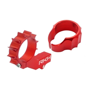 엑스캅터 - CNC AL 8mm Tail Motor Mount w/Protection Set (Red) - Blade mCPXBL