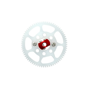 엑스캅터 - Blade 나노 CPS CNC Delrin 70T Main Gear w/AL Hub Set (Red)