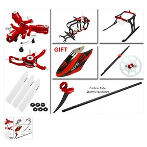 엑스캅터 - BLADE 나노 CPS CNC 3 Blade Head Advanced Upgrade Kit (Red)