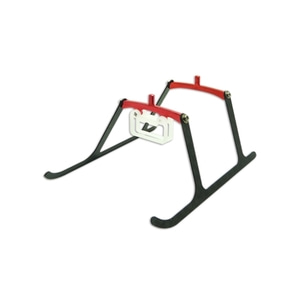 엑스캅터 - BLADE 나노 CPX CNC AL Landing Gear Style 02 (Black-Red)