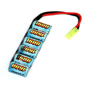 엑스캅터 - 1600mah 7.2V Mini Tamiya 수소배터리 (HPI MINI RECON,Carisma GT14....등1/16,1/18 차량용 )