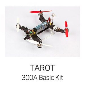 엑스캅터 - 타로 FPV, Racing Machine - 300 Class Quad Copter (KIT)