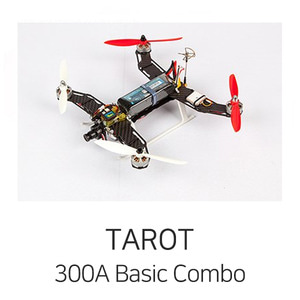 엑스캅터 - 타로 FPV, Racing Machine - 300 Class Quad Copter - Basic Combo(w/CC3D ATOM)
