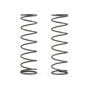 엑스캅터 - Team Losi Racing 16mm EVO Rear Shock Spring Set (Blue - 4.6 Rate) (2)