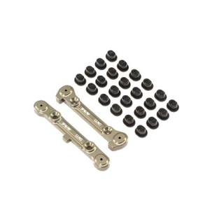 엑스캅터 - LLRC Adj Rear Hinge Pin Brace Set: 8IGHT 8T 4.0 옵션
