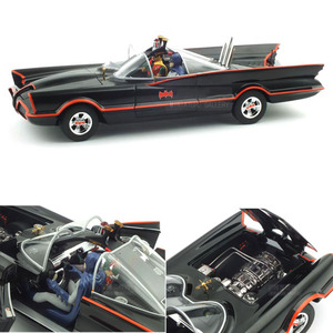 엑스캅터 - BATMAN Classic TV Series BATMOBILE with Batman and Robin (HW285975BK) 배트모빌,배트맨 모형자동차