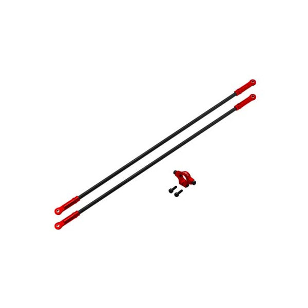 엑스캅터 - Rakonheli CNC AL Tail Boom Support Set (Red) - Blade 250 CFX 옵션