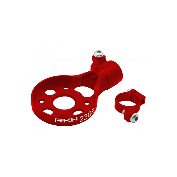 엑스캅터 - RAKONHELI CNC AL Tail Motor Mount Set (Red) - Blade 200 S/230 S/250 CFX