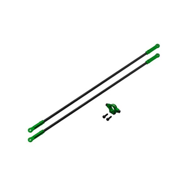 엑스캅터 - Rakonheli CNC AL Tail Boom Support Set (Green) - Blade 250 CFX 옵션