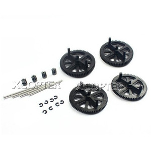 엑스캅터 - [ARdrone2.0 부품] Motor Pinion Gear + Gears + Shaft + Circlip x 4 (PF070047)