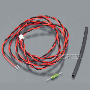 엑스캅터 - 후타바 External Voltage Input Cable(for 14SG/18MZ FASSTest, CA-RVIN-700)
